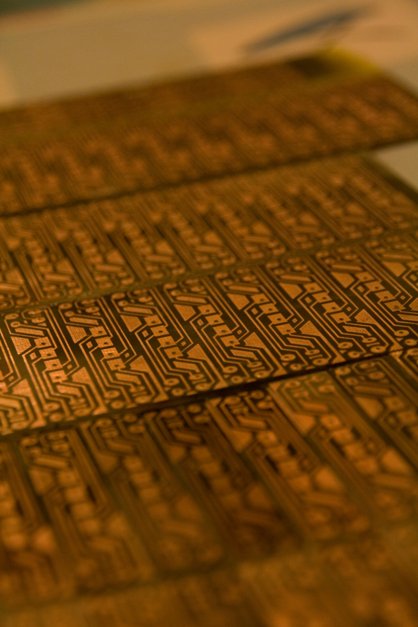 Home Circuit Board Etching Tutorial You Have To Clean And Sand The Top Bottom Of Circuitboard Soldered